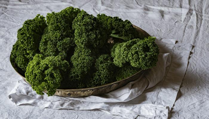 kale helps you poop