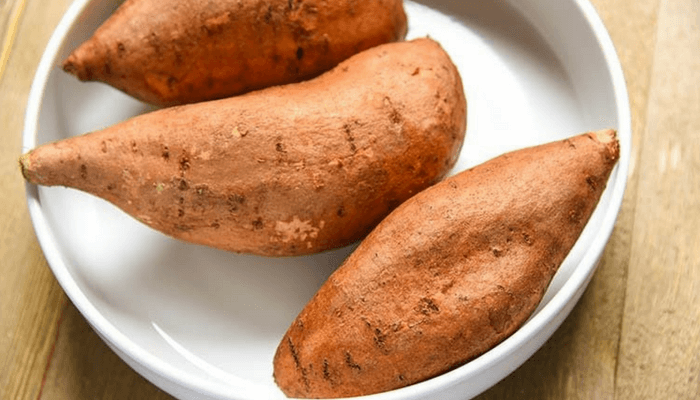 sweet potato helps you poop